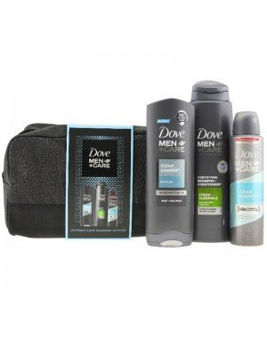Wholesale Dove Men + Care Ultimate Daily Care Wash Bag Gift Set