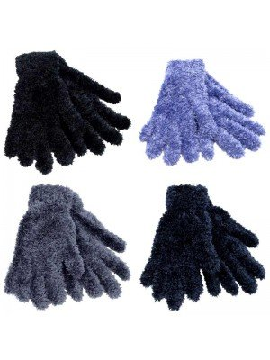 Ladies Thermal Feather Magic Gloves - Assorted Colours