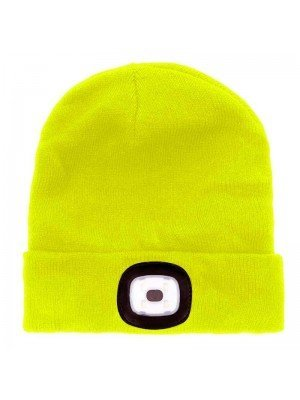 Wholesale Storm Ridge Beanie Hat with Integrated LED Lamp