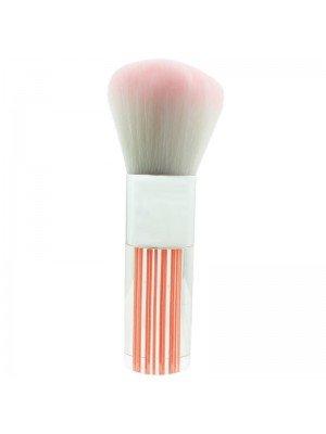 Glamorous Makeup Brush -  Pink and White