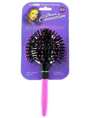 Wholesale Glamour Connection 3D Ball Styling Hair Brush - Assorted