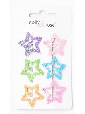 Glitter Star Sleepies - Pack of 6