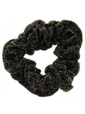 Glitter Style Scrunchies - Gold