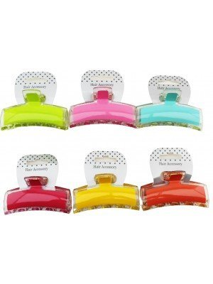 Glossy Clamp 8cm In Assorted Colours