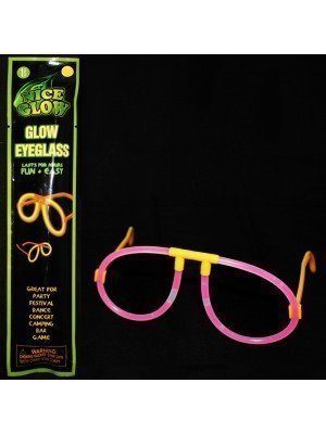 Glow In The Dark Eyeglasses - Assorted Colours