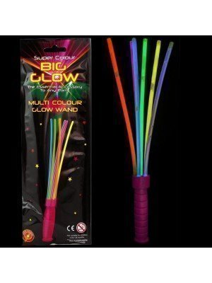 Wholesale Glow In The Dark Multi-Colour Sticks Glow Wand - 6 Sets