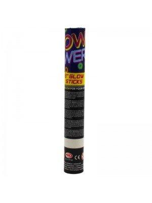 """Glow Power """"8"""" Glow Sticks (Box of 30)"""