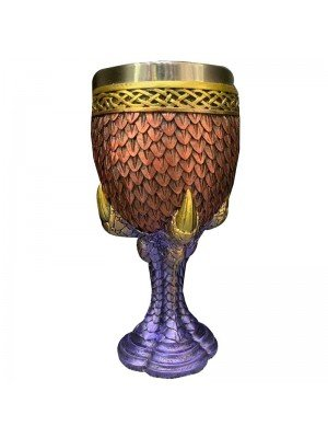 Dragon Claw and Scaled Decorative Goblet
