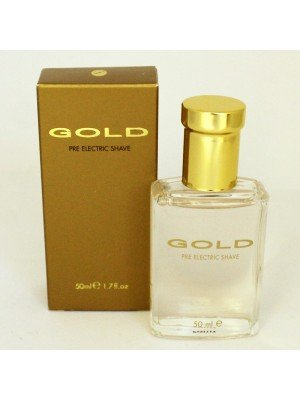 GOLD-  Pre- electric Shave Lotion 50 ml