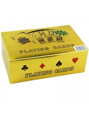 Wholesale Gold 50 Pound Playing Cards