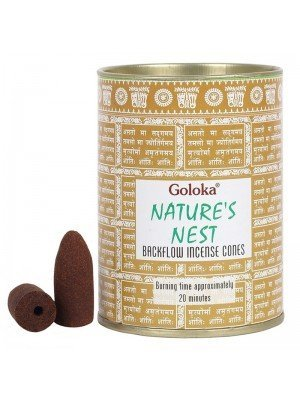 Wholesale Goloka Nature's Nest Backflow Incense Cones