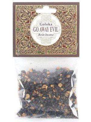 Goloka Resin Incense - Go Away Evil