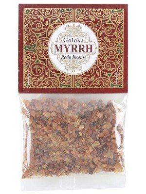 Wholesale Goloka Resin Incense - Myrrh