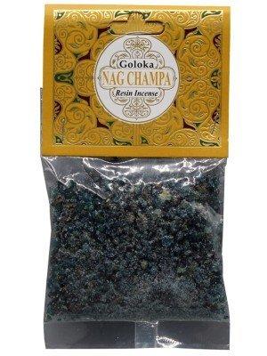 Goloka Resin Incense - Nag Champa