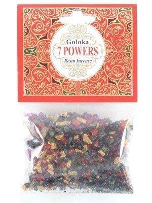 Goloka Resin Incense - Seven Power