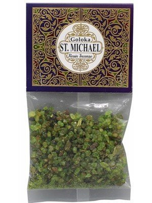 Goloka Resin Incense - St. Michael Mix