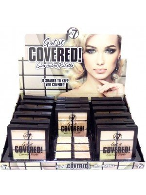 Wholesale W7 Got it Covered Concealer Palette