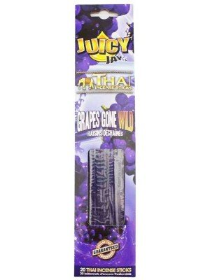 Wholesale Juicy Jay's Thai Incense Sticks - Grapes Gone Wild