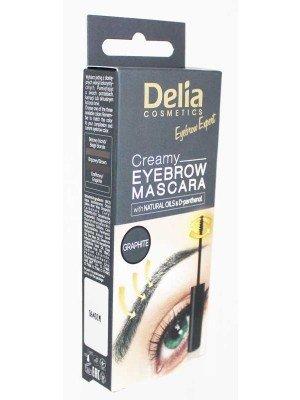 Wholesale Delia Cosmetics Creamy Eyebrow Mascara-4ml(Graphite)