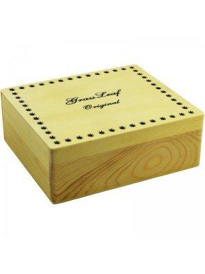 Wholesale Wooden Medium R-Box - Grass Leaf Original