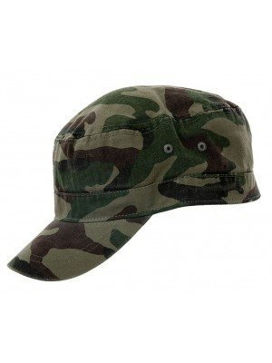 Wholesale Green Camouflage Cadet Cap