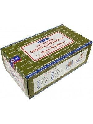 Wholesale Satya Nag Champa Green Citronella Incense Sticks