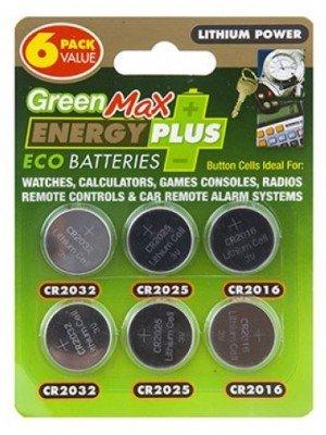 Green Max Energy Plus Eco Lithium Batteries