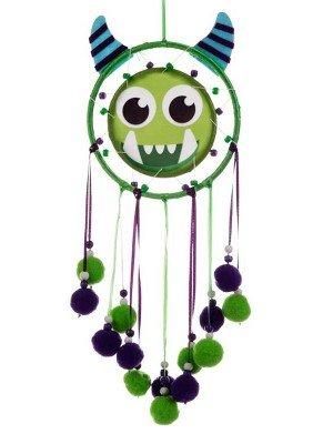 Wholesale Green Monstarz Monster Dreamcatcher - 16cm