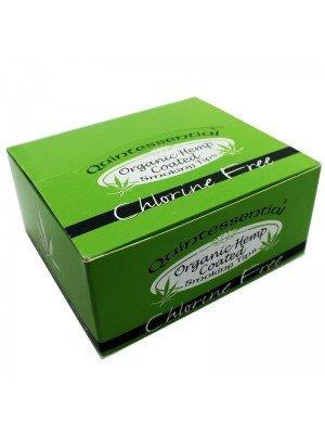 Quintessential - Green - Standard Organic Hemp Coated Smoking Tips