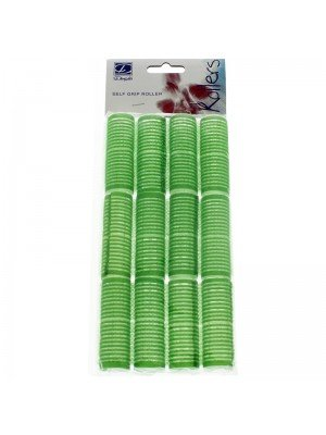 Self Grip Velcro Rollers In Green