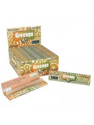 Wholesale Greengo King Size Slim The Natural Unbleached Papers