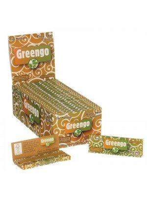 Wholesale Greengo The Natural Unbleached Extra Thin Classics Rolling Papers