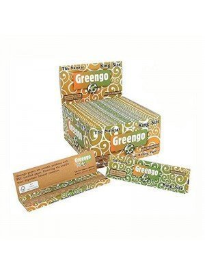 Wholesale Greengo King Size The Natural Unbleached Papers