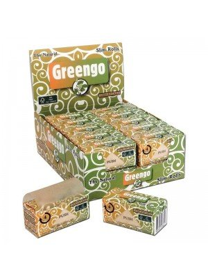 Wholesale Greengo The Natural Slim Rolls Unbleached Papers
