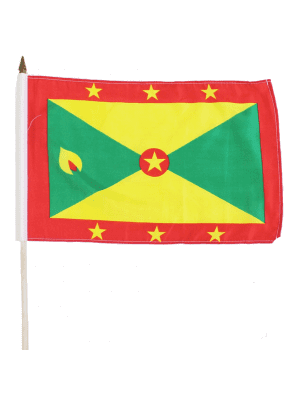 "Wholesale Grenada Hand  Flag 12"" x 18"""