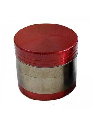 Wholesale 4-Part Metal Grinder 2 Colours - Assorted