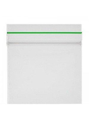 Grip Seal Plain Zipper Baggies Clear (60mm x 60mm)