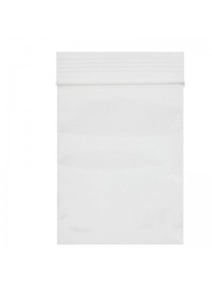 Grip Seal Plain Zipper Baggies Clear (50mm x 60mm)