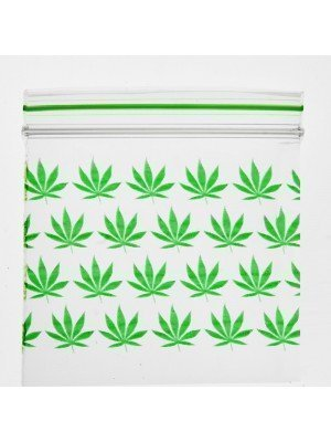 Grip Seal Printed Baggies Multi Leaf (2 x 2 inch)