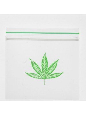 Grip Seal Printed Baggies Single Leaf (2 x 2 inch)