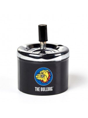 Wholesale The Bulldog Spinning Ashtray-Black