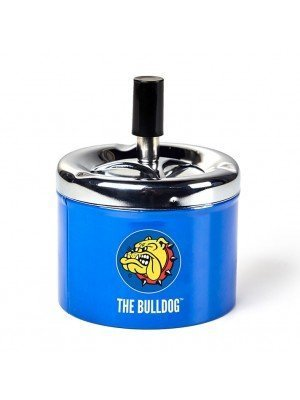 Wholesale The Bulldog Spinning Ashtray-Blue