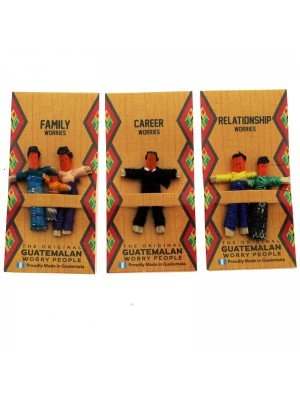 Guatemalan Worry Dolls Assortment