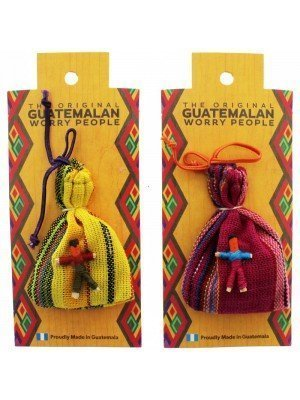 Guatemalan Worry Dolls In a Bag Small Assorted