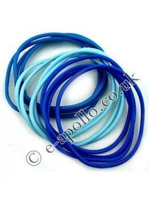 Gummy Bangles - Blue Assortment
