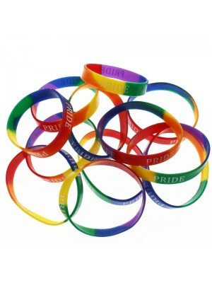 Gummy Bangles Gay Pride- Rainbow Colours