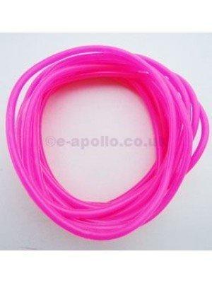Gummy Bangles - Neon Pink