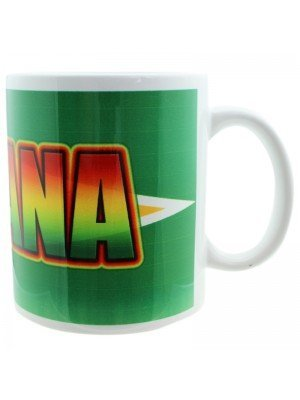 Guyana New Bone China Mug