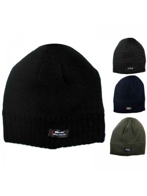 Wholesale RockJock Adults Thermal Insulated Fleece Lined Beanie Hats