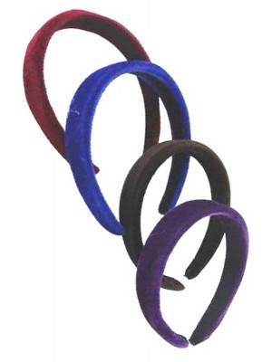 3cm wide Velvet Aliceband - Assorted Colours